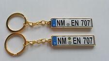 Schlüsselanhänger in Gold für Bmw, Audi, Skoda, Mazda, Peugeot, Vw, Toyota