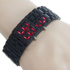 Fashion Cool Lava Design Digital LED light Wrist Watch Men's Favorite Gift Hot