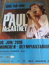 Paul McCartney 2016 Munich-orig. Concert Poster-Géant Poster 168 x 118 cm
