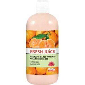 Fresh Juice Creme-Duschgel MANDARINE & AWAPUHI
