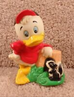 1980 Shelcore Inc.The Walt Disney Co.Donald Duck With Squirrel PVC Toy Figure