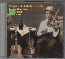 GROSSMAN / KALB / KATZ - played a little fiddle CD