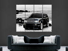 BLACK RANGE ROVER SPORT POSTER  4X4 CAR WALL ART PICTURE GIANT HUGE BIG