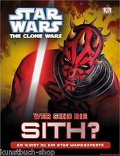 Fachbuch Star Wars™ The Clone Wars™, Wer sind die Sith?, mit vielen Infos, NEU