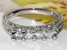 Unbranded Eternity Round Stone Costume Rings