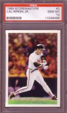* Bogo Cal Ripken Jr 3000 hits Die-Cut 23KT Gold Card calificado gema menta 10