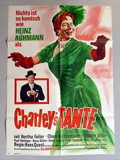 HEINZ RÜHMANN * CHARLEYS TANTE - A1-FILMPOSTER (Kinoplakat) 1967