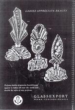 Post-War Czechoslovakian Glass - ads, articles, more