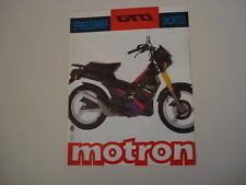 advertising Pubblicità 1991 MOTRON GTO