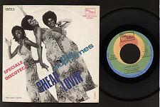 "7"" SUPREMES CHEAP LOVIN' / TOSSIN' AND TURNIN' ITALY 1972 TAMLA MOTOWN SOUL R&B"