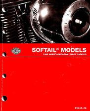 2008 HARLEY-DAVIDSON SOFTAIL MODELS PARTS CATALOG MANUAL -ROCKER-FATBOY-HERITAGE