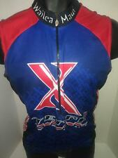 Squadra Team Division Terra Blue Sleeveless Mens Cycling Wind Vest Jersey  Size M e595f20e2
