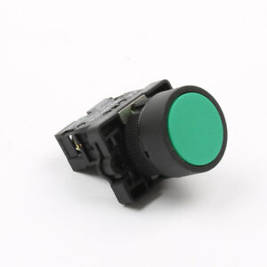 22mm Green Momentary Push Button Switch