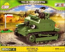 COBI TK-3 tankette (2392) - 250 elem. - WWII Polish tankette
