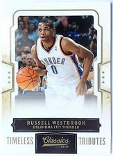 2009-10 Panini Classics RUSSELL WESTBROOK 12/50 GOLD Timeless Tributes Parallel