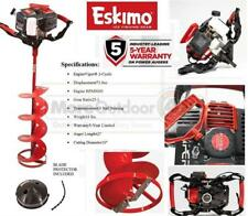 "Z71Q10 NEW Eskimo Ice Fishing Shark 71cc with 10"" Quantum Ice Auger Drill"