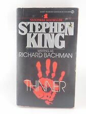 Vintage Stephen King Paperback Thinner **ShipDeals** Bachman Used Paperback