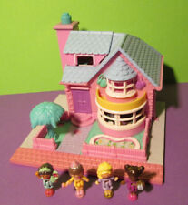 Polly Pocket Mini ♥ Bay Window House ♥ Pollyville 99 % Komplett ♥ 1993 ♥ LICHT