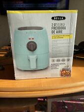 BELLA 2QT AIR FRYER, RED