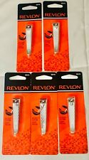 Revlon Manicure Pedicure Nail Clipper with File 32410 Lot of 5 New