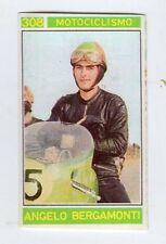 figurina - CAMPIONI DELLO SPORT PANINI 1967/68 - N. 308 MOTOCICLISMO BERGAMONTI