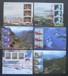 6 RECENT SHEETS PORTUGAL ACORES AND MADEIRA UNITED EUROPE CEPT B351.9 START$0.99
