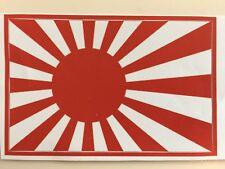 Japanese Navy jack vinyl sticker flag