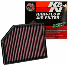 33-3065 K&N High Flow Air Filter fits VOLVO V90 II S90 XC90 2.0 & 2.0 DSL 2016-