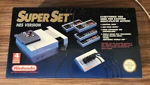 NES Nintendo Super Set Box & Poly Polystyrene Only MINT Collector's Condition