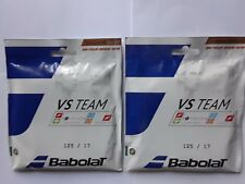 New Babolat VS Team Natural Gut tennis string,17ga ,2 set pk,natural gut,France