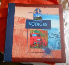 Album VIDE EMPTY Voyages Photos ou Cartes Postales 40 feuillets 33x34x6 cm