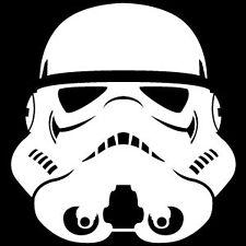 Star Wars Stormtrooper Casco, Van, Laptop, Scooter Vinilo Calcomanía Adhesivo
