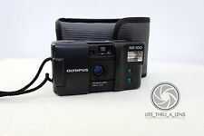 Olympus AM100 35mm Compact Film Camera with pouch lomo retro