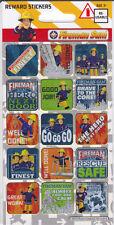 Fireman Sam Sparkly Glitter Reward Stickers