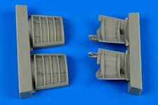 Aires 1/48 JAS-39A/C Gripen speed brakes for Kitty Hawk kit # 4624