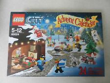 Entièrement neuf dans sa boîte lego 60024 ville de Noël de l'Avent calendrier 2013 interrompu Nouveau Noël.