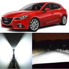 Alla Lighting High Beam Headlight 9005 White LED Conversion Kits for Mazda 3 5
