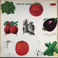 BEST OF CREAM 1ST PRESS 1969 UK POLYDOR VINYL LP 583060 EX / EX