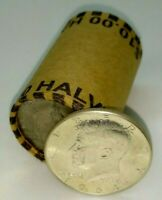 1964 Kennedy+ONE UNOPENED ESTATE SALE ROLL of HALVES MIGHT HAVE 90% SILVER COINS