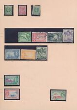 XC16569 Cayman Islands 1908 -1959 nice lot of good stamps used