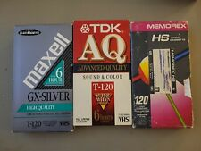 Blank Vhs Tape Lot Di Funeral Celebration Of 2000 And 9/11 Attack