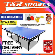 PRIMO Triumph 188 Outdoor Table Tennis Ping Pong Table w/ DHS Accessories