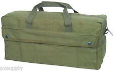 mechanics jumbo military style tool bag olive drab fox outdoor 40-65