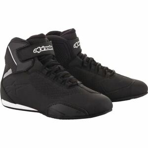 Alpinestars Sektor Vented Riding Shoes - Black, All Sizes