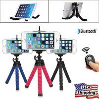 Mobile Phone Holder Flexible Octopus Tripod Bracket Selfie Stand Monopod Mount