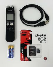 Sony ICD-SX712 Digital Flash Voice Recorder Linear PCM & Multi-Track MP3 Formats