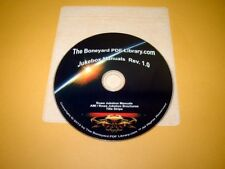 Rowe Jukebox Manuals On DVD (1 Disc)