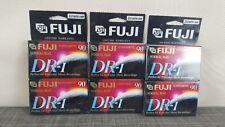 Fuji Dr-I Sealed Blank Audio Cassette Tape 2 Pack Lot of 3 New