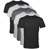 Gildan Men's Crew T-Shirt 5 Pack, Assortment, Medium, Assortment, Size Medium