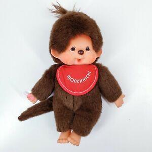 Monchhichi Monchichi Plush Monkey 210 cm tall red bib
